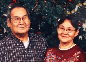 Jennie Zaukar, Calista Elder of the Year 2018, with late husband Peter Zaukar Sr.