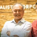 Calista Internships: Kasila Carey, Calista President/CEO Andrew Guy, Josh Bogdanski