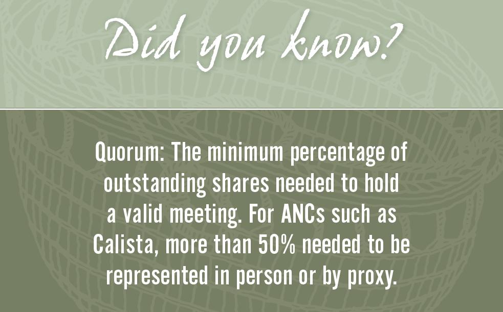 Quorum definition