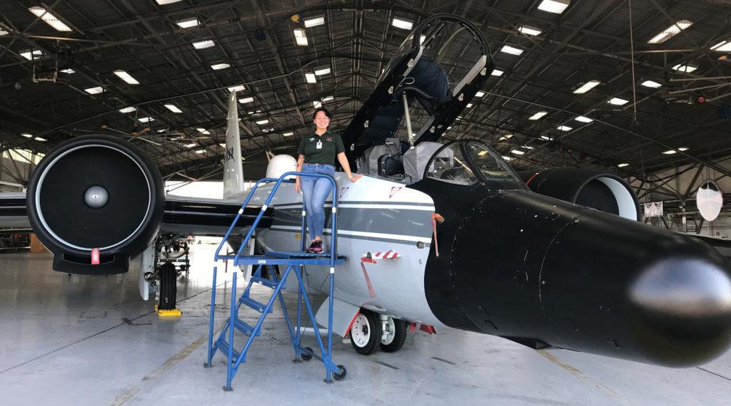 Regina Therchik at NASA