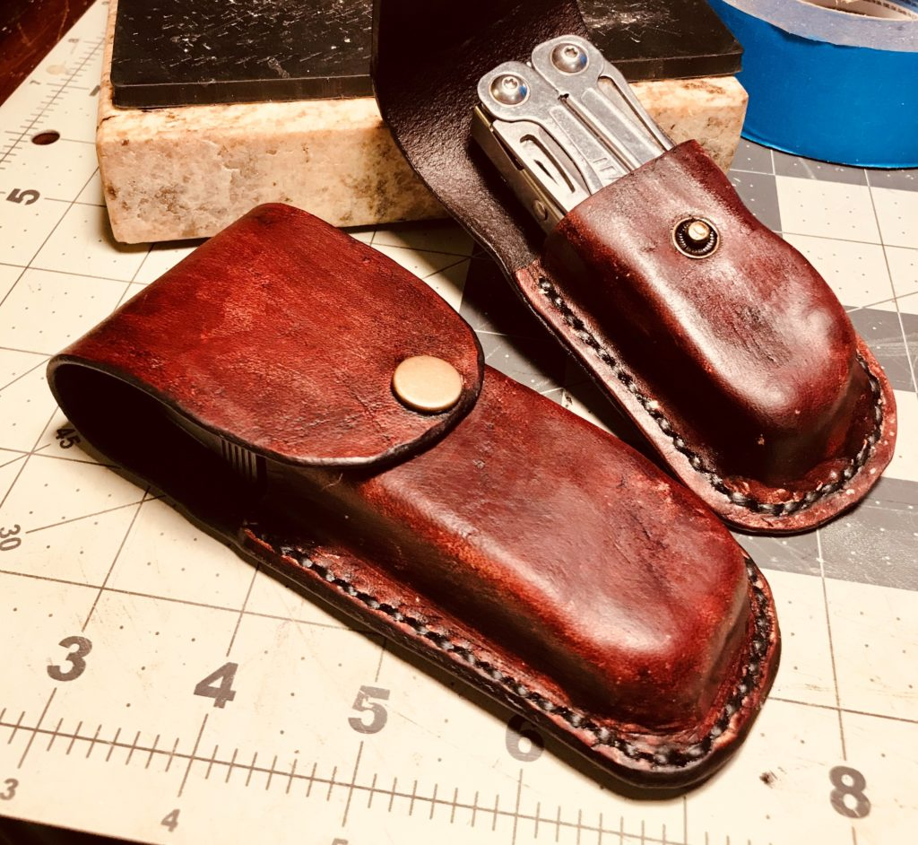 Patrick Samson, Tundra Leather, multi-tool sheath
