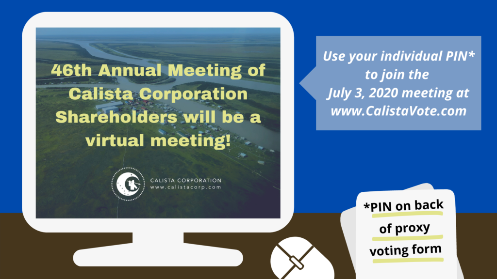 Annual Meeting is a Virtual Meeting