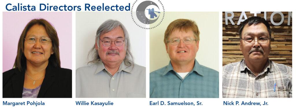 Calista Directors Reelected 2020