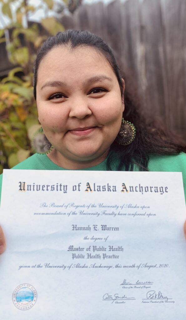 Hannah Warren - Calista Shareholder and CECI Scholarship Recipient