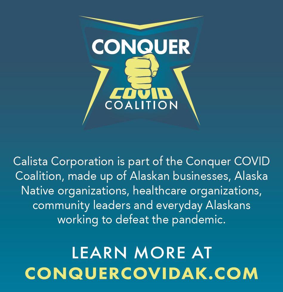 Learn more at ConquerCOVID.com.