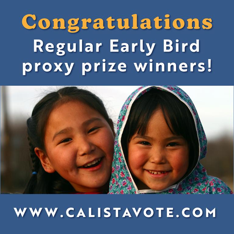 Calista Corporation Announces Second Round of 2021 Proxy ...