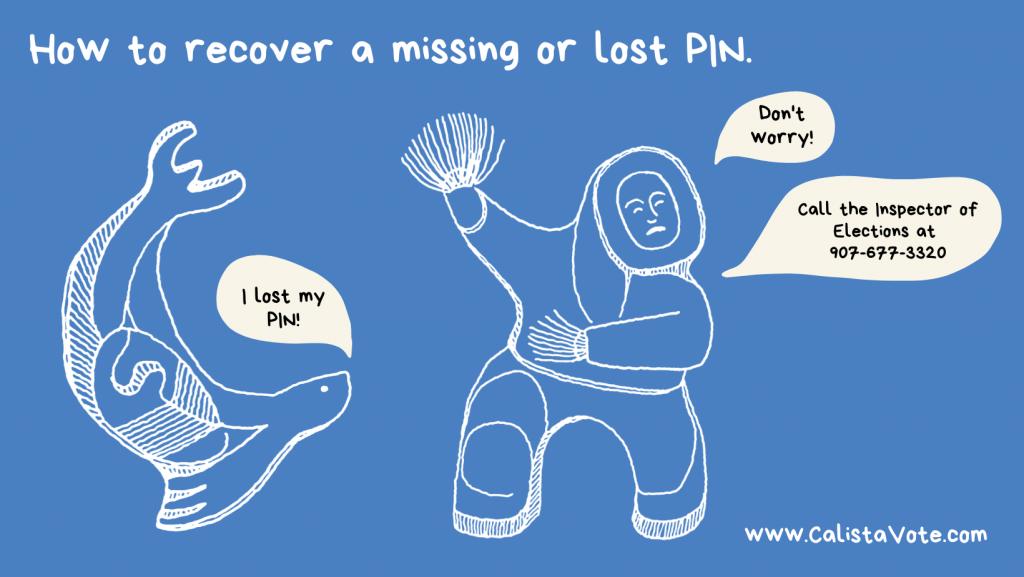 Lost my PIN post